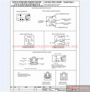 International 9800 Electrical Schematic