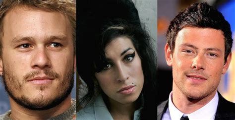 Tragic 20 Shocking Celebrities Who Died From Drug