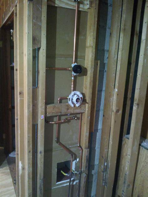 shower diverter plumbing how can i mount k 728 diverter valve without