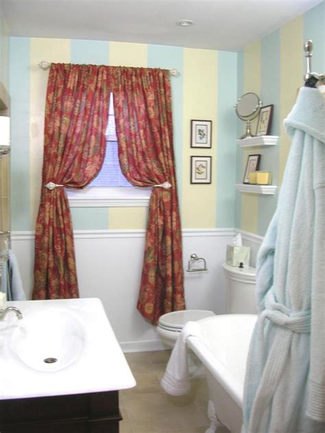 bright colored kitchen curtains design ideas for bathroom renovation 4903