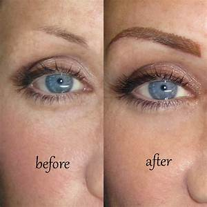 What Is Permanent Eyebrow Makeup with pictures
