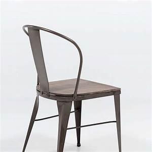 Chaise Industrielle Vintage : chaise industrielle vintage en m tal 631 4 ~ Teatrodelosmanantiales.com Idées de Décoration