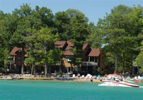 harbor lights resort on lake michigan harbor lights resort and marina review family vacation