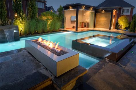Linear Outdoor Fire Pit-robata Natural Gas Or Propane