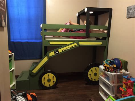 Ana White  John Deere Toddler Loft Bed  Diy Projects