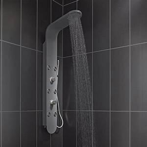 Colonne De Douche Hydromassante Grohe : colonne de douche hydromassante avec robinetterie gris ~ Dailycaller-alerts.com Idées de Décoration