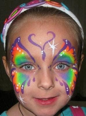 indigo blue face painting townsville