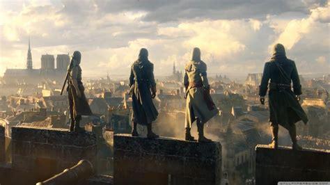 Assassins Creed Unity 4K HD Desktop Wallpaper for 4K Ultra