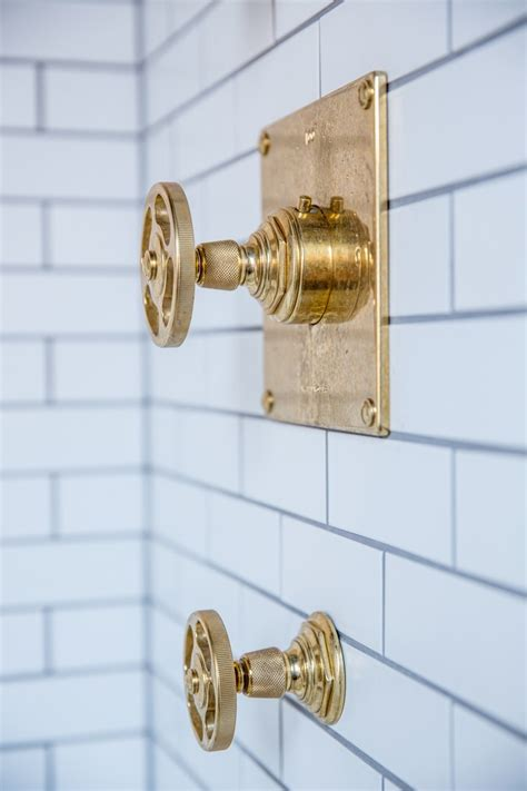 Brass Fixtures Bathroom by Small Bathroom Ideas In Black White Brass Cococozy