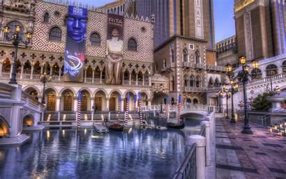 Vegas Las Casino Venetian Hotel Wallpapers Hdr