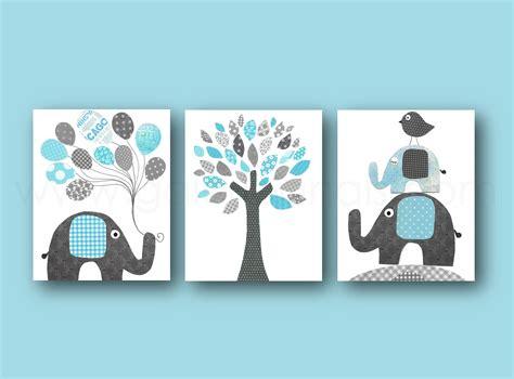 chambre 3 enfants lot de 3 illustrations pour chambre d 39 enfant et bebe bleu