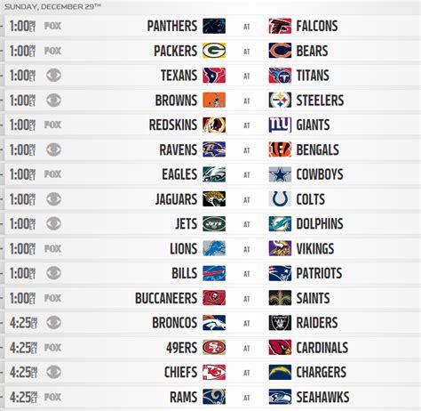 nfl regular season schedule released