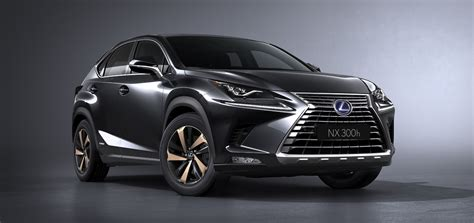 lexus crossover 2017 shanghai preview the 2018 lexus nx refreshed to look