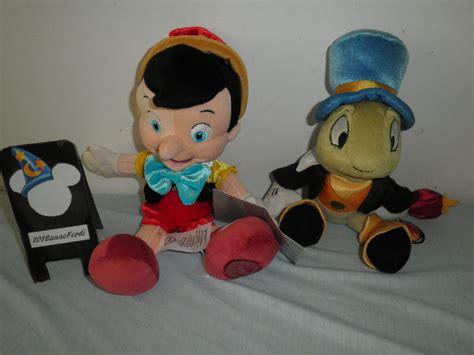 Pinocchio and Jiminy Cricket plush by 101sanneferdi on ...
