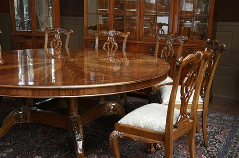 big dining room tables large oversized round dining table large round mahogany