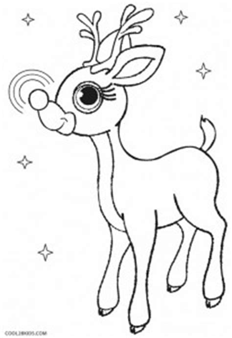 printable rudolph coloring pages  kids coolbkids