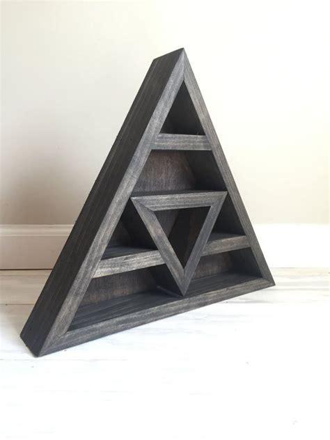triangle shelf  crystal display  wildnesstonic