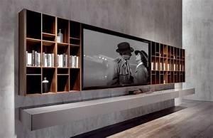 Tv Wandpaneel Holz : 33 moderne tv wandpaneel designs und modelle freshouse wohnen pinterest design tvs und ~ Markanthonyermac.com Haus und Dekorationen