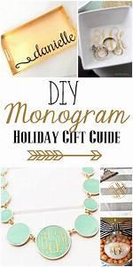diy monogram gifts guide she39s kinda crafty With diy monogram