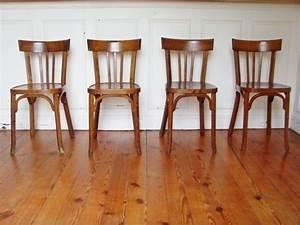 Chaise Bar Bois : chaise de bar de bistrot baumann style and steel jpg chaises tabourets lampes ~ Teatrodelosmanantiales.com Idées de Décoration