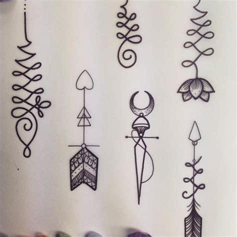 resultado de imagen  unalome arrow tattoo