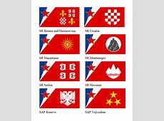 Yugoslavian regional flags by Leoninia on DeviantArt