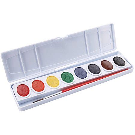 watercolor paint images prang watercolor paint cakes assorted colors 8 pkg walmart