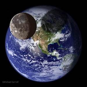 Earth And Moon And Sun - Pics about space