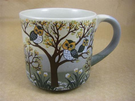 Most of the apps these days are developed only for the mobile platform. Vintage Owls in a Tree - Coffee Mug / Cup - Otagiri - Japan   Mugs, Owl coffee, Vintage owl