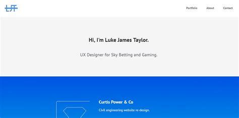 ux design portfolio 11 rousing ux designer portfolio websites