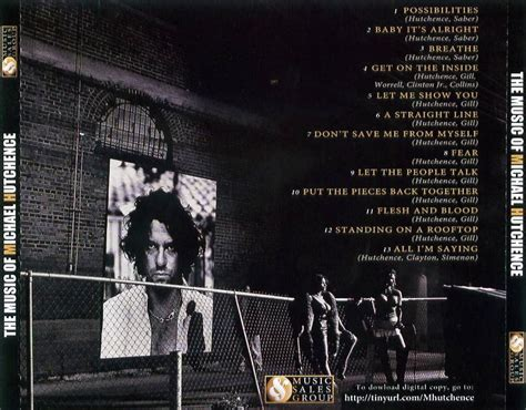 The Music Of Michael Hutchence Usa Promo Only Cd