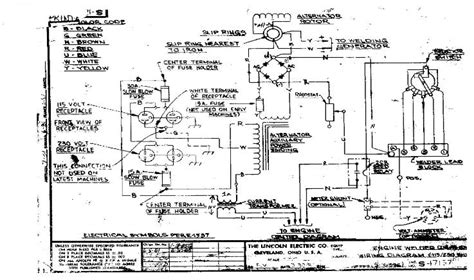 car electrical wiring lincoln sa 200 wiring schematic