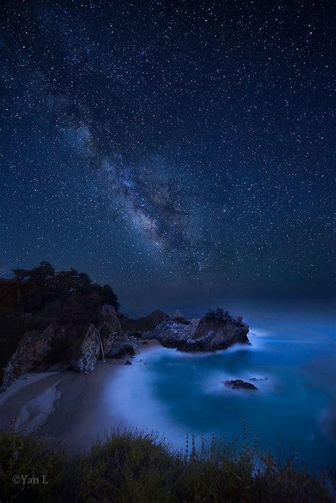 Amazing Night Big Sur California Roberto Breglia