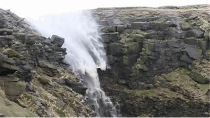 Reverse Waterfall Never Flowing Seen Something Ve