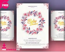 Baby Shower Invitation Templates By Freedownloadpsd On Blog Designs Free Baby Shower Invitation Template Baby Shower Invitations Cards Designs Baby Shower