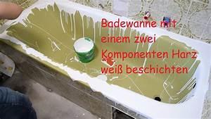 Badewanne Neu Beschichten : badewanne bei kevin mit zweikomponenten harz neu ~ Watch28wear.com Haus und Dekorationen