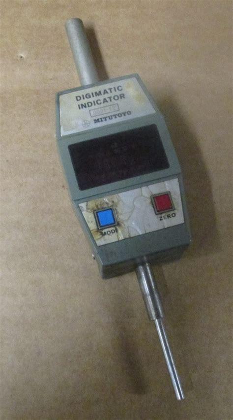 "Mitutoyo Digimatic Indicator 000112"" 5434231 Id130me"