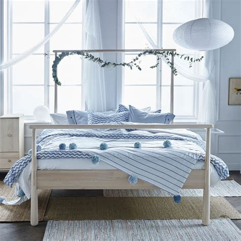Ikea Bed by Ikea Gjora Bed Frame White Lur 246 Y Size Bed In