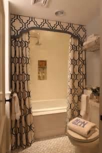 bathroom curtain ideas shower curtains transitional bathroom liz caan interiors