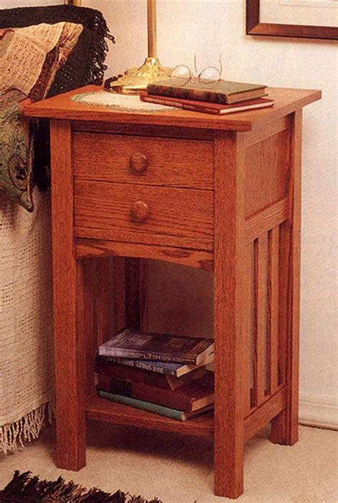 arts  crafts  tablenightstand woodworking plan