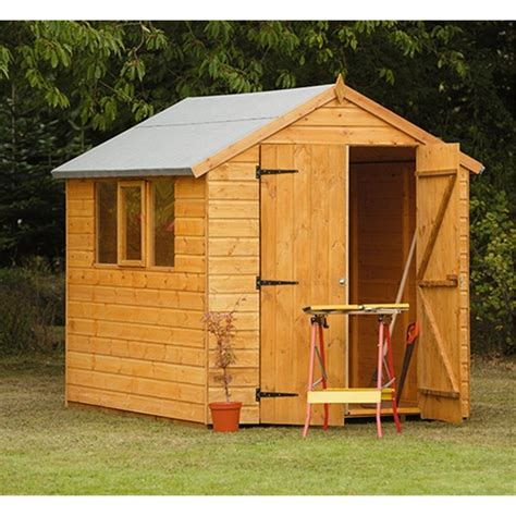 Garden Shed 8x6 Best Price by Shedswarehouse Hanbury 8ft X 6ft Robust Shiplap