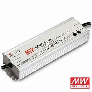 12v  24v 240 Watt Ip65 Mean Well Transformer For Led Tape