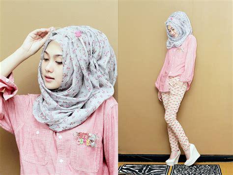 hijab scarf ala indah nada puspita tutorial pashmina