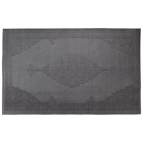 tapis d extérieur en polypropylène tapis d ext 233 rieur en polypropyl 232 ne gris 180 x 270 cm ibiza maisons du monde