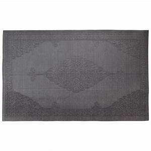 tapis d39exterieur en polypropylene gris 180 x 270 cm ibiza With tapis polypropylène extérieur