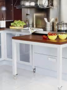 Kitchen Island With Pull Out Table Pullout Kitchen Table Restore Rebuild Remodel Travel Trailers C