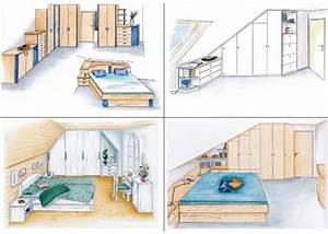 Bett Unter Dachschräge : wohlig unter dem dach urbana m bel ~ Lizthompson.info Haus und Dekorationen