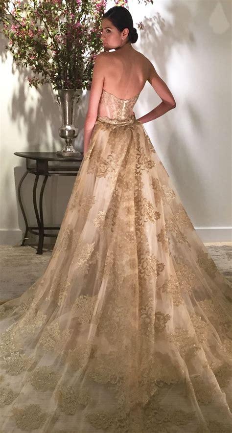 25 Best Ideas About Gold Wedding Dresses On Pinterest