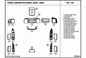 2006 Ford Crown Victoria Dash Kits