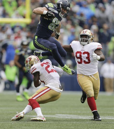 seahawks tight  luke willson glad leap   agency